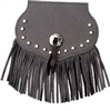Small Concho, Studded, Fringe, Mud Flap