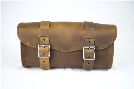 Large Brown Leather Tool bag