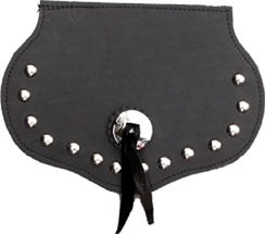 Small Studded Concho Mud Flap