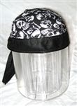 Skull Nylon Leather Head Wrap