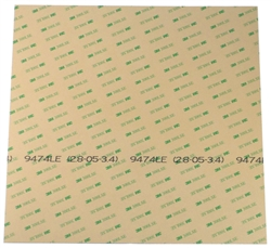 "3M 300LSE double-sided adhesive sheet 12""x12"""