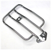 Chrome Solo Seat Luggage Rack For HD Sportster XL883 1200 2004-2015