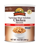 Augason Farms Chicken - Vegetarian Meat Substitute - 10.4 oz Can