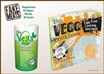 The Vegg - Cookbook & 2 Packets of The Vegg