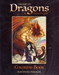 DREAMS OF DRAGONS AND DRAGON KIN COLORING BOOK