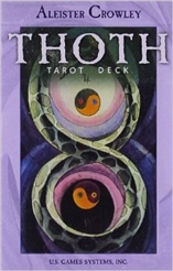 ALEISTER CROWLEY THOTH TAROT SMALL DECK