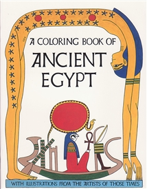 ANCIENT EGYPT COLORING BOOK