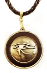 EYE OF HORUS MEDALLION PENDANT