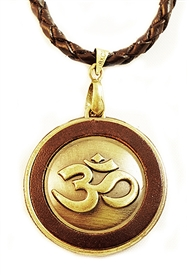 OHM MEDALLION PENDANT