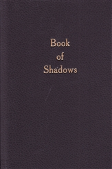 BOOK OF SHADOWS BLANK BOOK LARGE