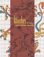 WITCHES ALMANAC COLORING BOOK