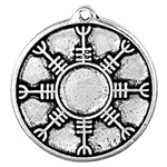 RUNIC TALISMAN FOR LOVE PEWTER