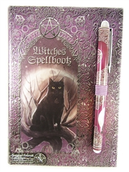 WITCHES SPELLBOOK with PEN