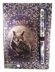 OWL SPELLBOOK with PEN