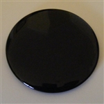 BLACK 8 INCH SCRYING MIRROR