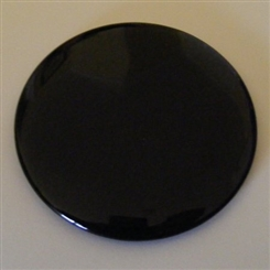 BLACK 6 INCH SCRYING MIRROR