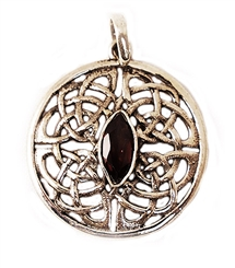 CELTIC KNOT SHIELD PENDANT