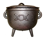 LARGE TRIPLE GODDESS CAULDRON