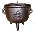 LARGE TRIQUETRA CAULDRON