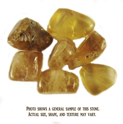 CALCITE, YELLOW 1 STONE