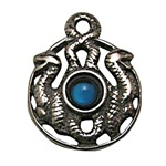 DRUID KNOT PEWTER PENDANT
