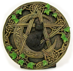 CATPENTAGRAM WALL PLAQUE