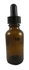 1 Ounce Glass Bottle With Dropper