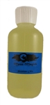 SANDALWOOD MASSAGE OIL, 4 oz. SIZE.