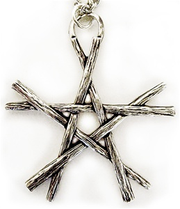 PENTACLE OF WANDS PENDANT