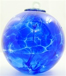 BRILLIANT BLUE WITCH BALL