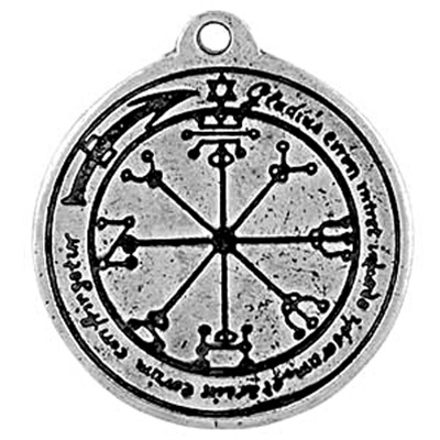 Talisman Of Protection Pewter Pendant