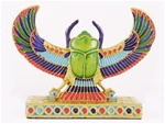 WINGED SCARAB STATUE