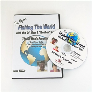 Gapen DVD Fishing The World - Ol Mans Favorites
