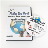 Gapen DVD Fishing The World - Wild Rivers
