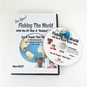 Gapen DVD Fishing The World - Ice and Tropic Hot Tips