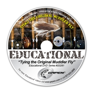 Gapen DVD - Tying the Original Muddler Fly