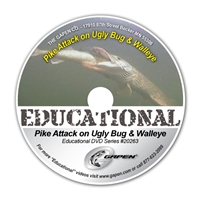 Gapen DVD - Pike Attacks Ugly Bug & Walleye