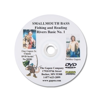 Gapen DVD - River Fishing Smallmouth Bass