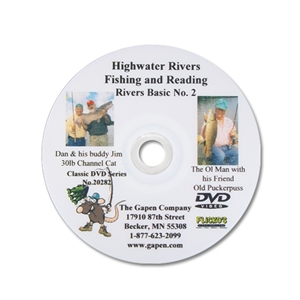 Gapen DVD - River Fishing Highwaters