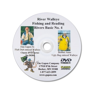Gapen DVD - River Fishing Walleye
