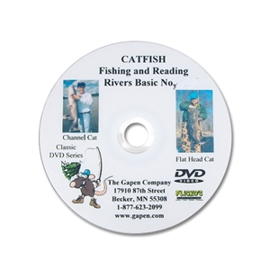 Gapen DVD - River Fishing Catfish Basics