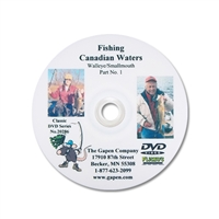 Gapen DVD - Canadian Waters Smallmouth & Walleye