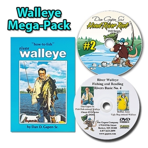 Walleye Book Video Mega Pack - Learn to Catch Walleye