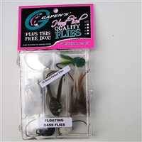 Bass Fishing Fly Kit, Floating Bass Flies