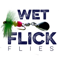 Wet Style Flick Fly, Fly-Spinner, Catches All Fish from Gapen