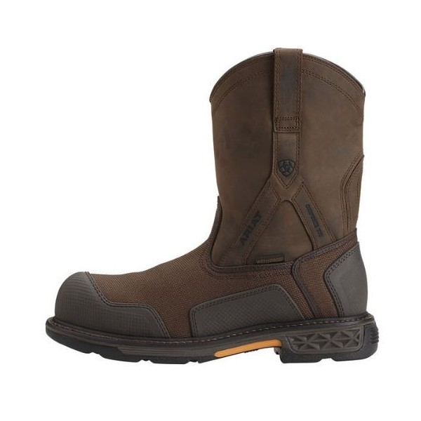 Ariat 10012942 Overdrive XTR Brown Cordura Pull-On H2O Composite ...