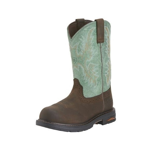 Ariat 10015405 Women's Tracey Oily Distressed Brown Pull-On H2O ...