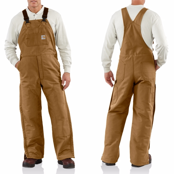 101626 Flame-Resistant Quilt Lined Duck Bib Overall : carhartt quilt lined duck bib overalls - Adamdwight.com