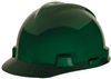 MSA 463946 Green V-Gard Non-Slotted Cap With Staz-On Suspension