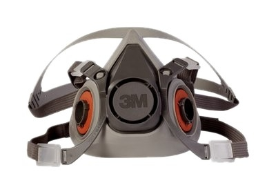 3M 6200 Half Facepiece Lightweight Respirator - Medium